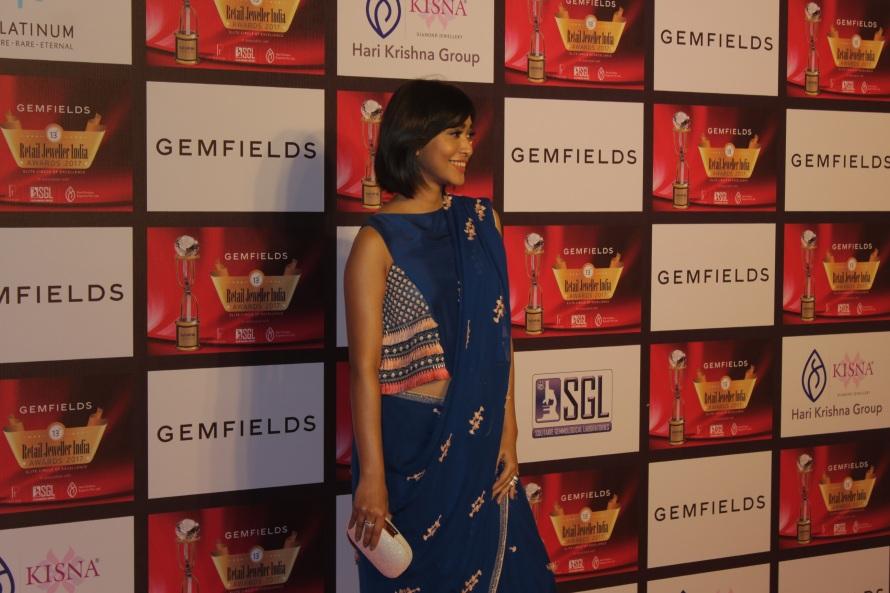 Sayani Gupta at the 13th Gemfields Retail Jeweller India Awards 2017