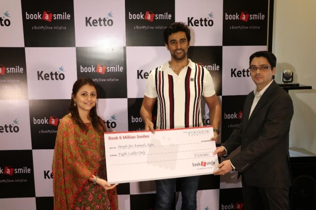 Kunal Kapoor, Co-Founder, Ketto and Farzana Cama Balpande, Head at BookASmile - charity initiative of BookMyShow at the Book 6 Million Smiles event_1