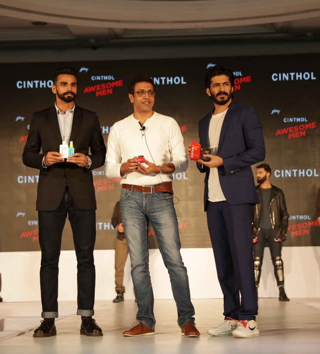 Godrej LAUNCHES CINTHOL'S ALL NEW MEN'S GROOMING RANGE